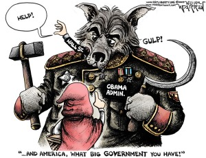 Cartoon - What Big Government (600)