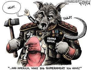 Cartoon - What Big Government (600)