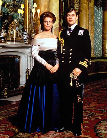 Official engagement portrait of the Duke of York